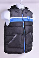 Olive Green Camo print Youth Boy/'s iXtreme Winter Snow Puffer Vest w// Hood