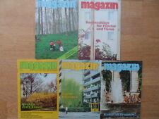 5x MAGAZIN FÜR HAUS UND WOHNUNG 1-5/1990 DDR-Zeitschrift für Heimwerker