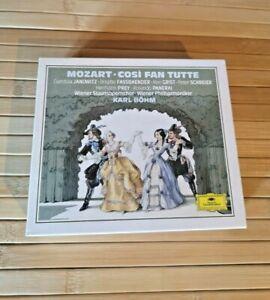 Mozart: Così Fan Tutte CD Box Set - Deutsche Grammophon - Karl Bohm