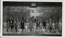 1946 Spencerport NY High School Play Photograph / Tompkins Photo Svc Le Roy NY