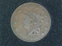 1832 Large Cent - Large Letters