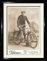 Vintage cycling Bike framed picture