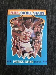 1990-91 Fleer All-Stars Set Break # 12  Patrick Ewing Near Mint-Mint. Knicks
