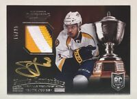 SETH JONES 2013-14 Norris Contenders RC Rookie Patch Auto RPA 3-Color Gold 15/25