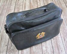 QUEEN : Vintage Holdall Shoulder Bag Crest Logo Official Fan Club Merchandise