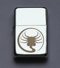 ALIEN - chrome petrol lighter -------- [Cd:951.mc-264-lP.] mini poster nostromo