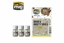 AMMO OF MIG A.MIG-7440 Enamel Arid and Dusty Soils 3x35ml