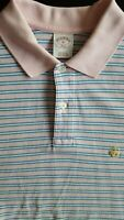 BROOKS BROTHERS Men 346 Original Fit Cotton Short Sleeve Polo Shirt - Medium M