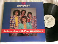 THE REPLACEMENTS Interview with Paul Westerberg Pleased To Meet Me promo only LP