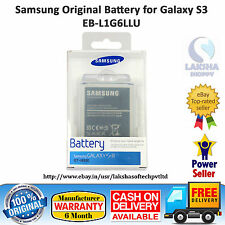 100% ORIGINAL SAMSUNG BATTERY EB-L1G6LLU FOR GALAXY S3 SIII i9300 2100 MAH.