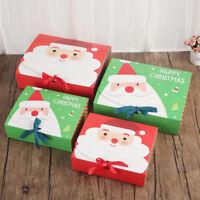 Réveillon de Noël Coffret cadeau Favor cadeaux Présenter Emballage Sac Candy Box