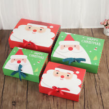 Xmas Christmas Eve Gift Box Favour Present Gifts Wrapping Bag Candy Boxes Party