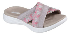 Skechers Monarch 15306 On-The-Go 600 Ladies Sporty Casual Mule Sandals