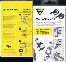 TOPEAK VERSAMOUNT adjustable waterbottle cage water bottle mount mountin bracket