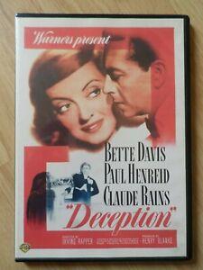 Deception (DVDR2) 1946 Bette Davis 107mins+Extras (BARGAIN)