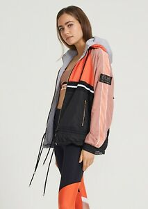 PE NATION MAN DOWN JACKET -ROSE DAWN PINK WITH FLEECE - SMALL - RRP £250.00