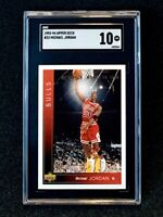 "1993-94 Upper Deck Michael Jordan #23 ""He's Back Stamp"" SGC 10 Low Pop"