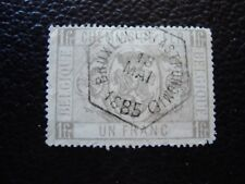 BÉLGICA sello yvert y tellier colis postal nº 6 matasellados 2eme elección A11
