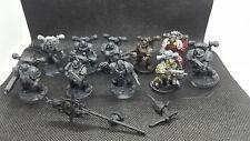 Chaos Space Marine Nurgle Plague Marines Warhammer 40k Heretic Astartes OOP