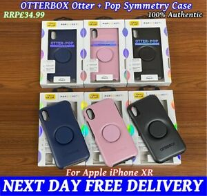 👉For iPhone XR👈Otterbox Otter + Pop Symmetry Series Case Slim Cover