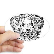 CafePress Schnoodle Oval Bumper Sticker, Euro Oval Car Decal (494488834)