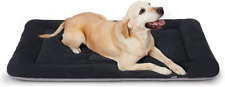 """New listing Hero Dog Cute Paw Bed Pet Beds Crate Large 42"""" x 28"""", Paw-Dark Grey"""