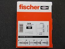 Fischer 24556 Gipskartondübel Metall GKM Hohlraumdübel Rigipsdübel 100 St. Dübel
