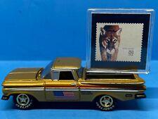 Johnny Lightning USPS 1959 Chevy El Camino - Gold *LOOSE*