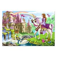 Melissa & Doug 48pc Fairy Tale Castle Floor Puzzle