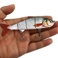 Mehrteilige Wobbler Kunstköder Geteilter schwimmender Fishing-Lure-Bait