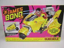 JAMES Bond Jr. - SUBCYCLE 1991 Hasbro #7795 Converts to undersea spy submarine