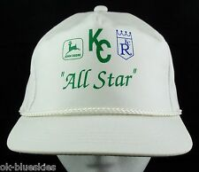 Kansas City Royals John Deere Hat Cap All Star KC Baseball Collaboration OSFA