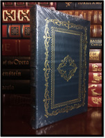 The Ocean at End of the Lane ✎SIGNED✎ by NEIL GAIMAN Sealed Easton Press Leather