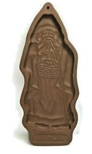 Vintage 1993 Longaberger Pottery St. Nick Cookie Mold