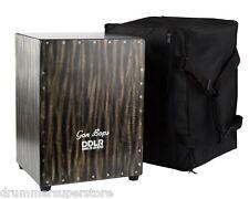 Gon Bops CJDR Daniel de los Reyes Signature Flamenco Cajon Drum Box with Bag