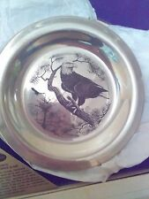 "Frankiln Mint, ""American Bald Eagle"" bird plate"