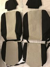 Front Seat Covers Fit 08-11 Toyota Avalon TY425-08TT Black Light Gray