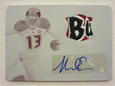 2014 National Treasures Materials  Printing Plate Autograph Mike Evans 1/1