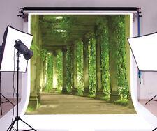 Green pavilion Vinyl photography background Photo Backdrop 10x10ft