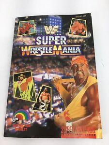 Super Wrestle Mania (SNES Nintendo, Manual Only)