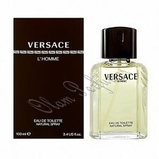 Versace L'Homme For Men Edt. Spray 3.4oz 100ml * New in Box Sealed *