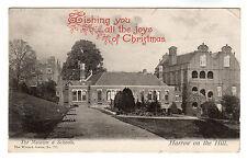 Museum & Schools Harrow On The Hill Photo Postcard 1906