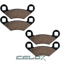 Front /& Rear Brake Pads For POLARIS SCRAMBLER  400 2x4 2001 2002