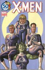 X-Men  #16  Fantastic Four Anniversary Quinones  Variant  Cover