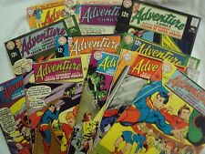 ADVENTURE COMICS LOT DC 368 369 370 371 372 373 374 376 377 385 386 1968-1969 ST
