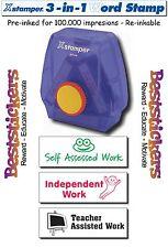 X-Stamper 3-in-1 Teacher Reward Stamper - 100.000 impresions - Re-inkable - 006