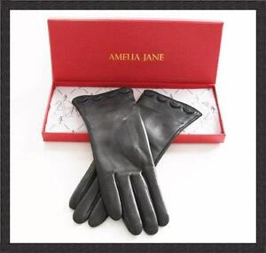 Ladies Gloves - Soft Leather - Silk Lined for warmth