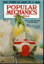 1957 Popular Mechanics: We Chase Jets on Film Cover