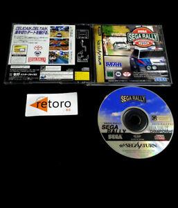 SEGA RALLY CHAMPIONSHIP 1995 Sega Saturn SS JAP Sega Sports