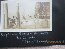 Ww1 Photo album 1918 - 19 France & Us Military & other Pictures with captions
